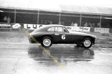 Aston Martin DB2 - Reg Parnell in XMC 76 at Silverstone 1951 Production Cra Race. 10x7""